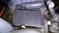Safe under cubby box Land Rover Defender 90/110