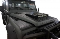 Wing top chequer plates Land Rover Defender 90/110