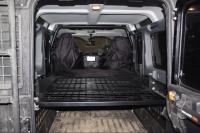 Storage system + sleeping birth Land Rover Defender 110
