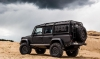 Rear Side window guards with fuel can holders Land Rover Defender 90/110