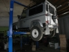 Side sills  chequer platesLand Rover Defender 90